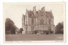 CUSSAC - MEDOC  (cpa 33)  Château Lanessan    -  L 1 - France
