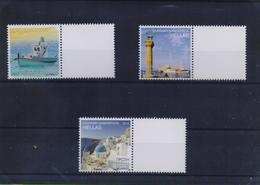 GREECE STAMPS 2014/PERSONALIZED STAMPS WITH BLANK LABEL/TOURIST 2014  -9/7/14-MNH-VERY RARE!!!!! - Griechenland