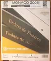 Yvert Et Tellier - JEU MONACO MS 2008 (Sans Pochettes) - Albums & Binders