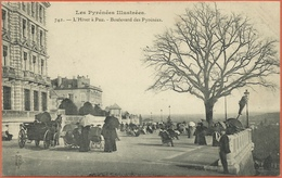 -  64  -  Pau  -  L'Hiver  à  Pau .- Boulevard  Des  Pyrénées . - Pau