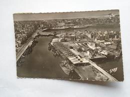 """Dieppe , Le Port De Pêche , Au Fond La Gare Maritime """""""" Carte Animée Beaux Bateaux """""""" - Dieppe"""