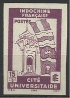 INDOCHINE N° 279 279a ND NON DENTELE - Indochine (1889-1945)