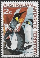 AUSTRALIAN ANTARCTIC TERRITORY 1966 Antarctic Scenery -2c - Emperor Penguins FU - Australian Antarctic Territory (AAT)