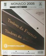 Yvert Et Tellier - JEU MONACO MS 2005 (Sans Pochettes) - Albums & Binders