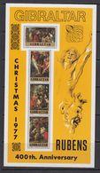 Gibraltar 1977 Peter Paul Rubens / Paintings M/s ** Mnh (F7662) - Gibraltar