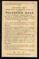 Souvenir Mortuaire NANIOT Rosalie (1847-1910) Née Et Morte à BOSSIERES - Images Religieuses