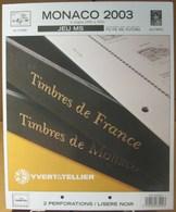 Yvert Et Tellier - JEU MONACO MS 2003 (Sans Pochettes) - Albums & Binders
