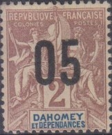 Dahomey 1912 05/2c MiN°33 MH/* - Benin – Dahomey (1960-...)