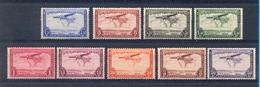 Belgisch Congo 1934 : Serie Nrs PA7 T/e/m PA15.  MNH** Postfris.LUCHTPOST - POSTE AERIENNE. - Belgisch-Kongo