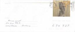 Canada - Postwaardestuk/enveloppe - Eastern Screech-Owl - Uil/Owl/Eule/Chouette - Gebruikt - 10.5 X 24.2 Cm - 1953-.... Regering Van Elizabeth II