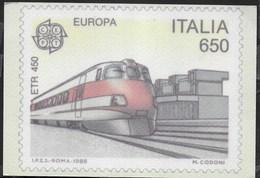ITALIA - EUROPA 1988 - TRENO  ETR 450 - NUOVA - Francobolli (rappresentazioni)