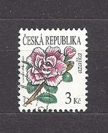 Czech Republic 2008 Gest ⊙ Mi 553 Sc 3364 Flowers Azalea. C7 - Tschechische Republik