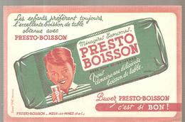 Grégoire PRESTO BOISSON Ménagères économes PRESTO BOISSON Vous Donnera Une Délicieuse Boisson De Table - Limonadas - Refrescos
