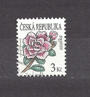 Czech Republic 2008 Gest ⊙ Mi 553 Sc 3364 Flowers Azalea. C8 - Tschechische Republik