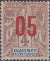 Dahomey 1912 05/4c MiN°34 MH/* - Benin – Dahomey (1960-...)