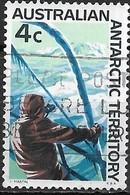 AUSTRALIAN ANTARCTIC TERRITORY 1966 Antarctic Scenery - 4c - Ship And Iceberg FU - Australian Antarctic Territory (AAT)