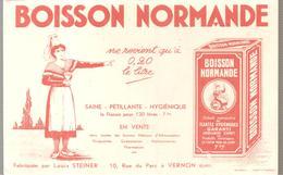 Grégoire BOISSON NORMANDE Fabriquée Par Louis Steiner 10 Rue Du Parc à Vernon (Eure) - Limonades