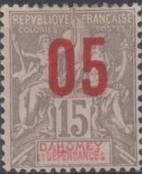 Dahomey 1912 05/15c MiN°35 MH/* - Benin – Dahomey (1960-...)