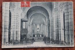 CHAMPAGNE (07) - INTERIEUR DE L'EGLISE - MONUMENT HISTORIQUE - France