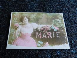 Jeune Femme, MARIE, Timbre  (S6) - Prénoms