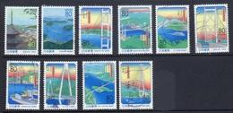 Japan 1999 - Prefectural - Hiroshima And Ehime - 1989-... Emperador Akihito (Era Heisei)