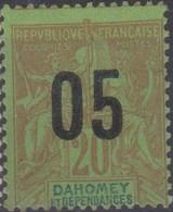 Dahomey 1912 05/20c MiN°36 (*) - Benin – Dahomey (1960-...)