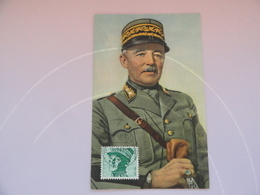 CARTE MAXIMUM CARD  GENERAL HENRI GUISAN SUISSE - Cartes-Maximum (CM)