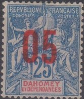 Dahomey 1912 05/25c MiN°37 (*) - Benin – Dahomey (1960-...)