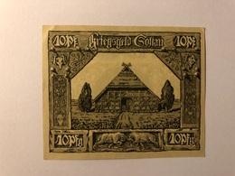 Allemagne Notgeld Soltan 10 Pfennig - [ 3] 1918-1933 : République De Weimar