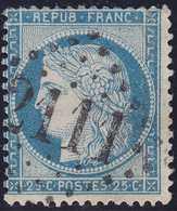 N°60C, Oblitéré GC 2111 De Luc S Mer (13), 1er Choix - 1871-1875 Cérès