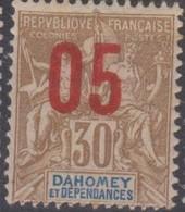 Dahomey 1912 05/30c MiN°38 (*) - Benin – Dahomey (1960-...)