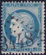 N°60A Oblitéré GC 3448 De Souillac (44), TB - 1871-1875 Cérès