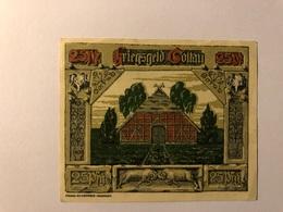 Allemagne Notgeld Soltan 25 Pfennig - [ 3] 1918-1933 : République De Weimar