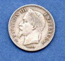 Napoléon III --  50 Centimes 1867 K  -  état  TB - France