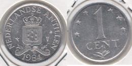 Antille Olandesi 1 Cent 1984 KM#8a - Used - Antillen (Niederländische)