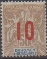 Dahomey 1912 10/50c MiN°40 MH/* - Benin – Dahomey (1960-...)