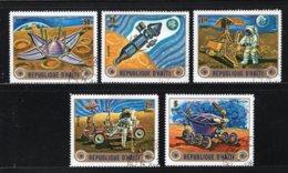 HAITI Yt. PA505/509° Gestempeld Luchtpost 1973 - Haïti
