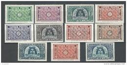 """Tunisie YT 314 à 319A """" Décoration Et Neptune """" 1947-49 Neuf** - Tunisia (1888-1955)"""