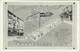 Bierhaus Fischl Betriebe.Fritz Kohnen G.m.b.H. - Dusseldorf - Publicité