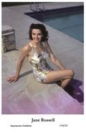 JANE RUSSELL - Film Star Pin Up PHOTO POSTCARD - C44-10 Swiftsure Postcard - Artiesten