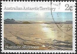 AUSTRALIAN ANTARCTIC TERRITORY 1984 Antarctic Scenes - 2c - Summer Afternoon, Mawson Station FU - Australian Antarctic Territory (AAT)