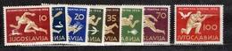 Yougoslavie YT N° 706/713 Neufs ** MNH. TB. A Saisir! - 1945-1992 Socialist Federal Republic Of Yugoslavia