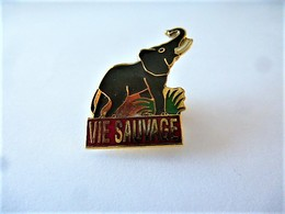 PINS VIE SAUVAGE ELEPHANT / 33NAT - Animals