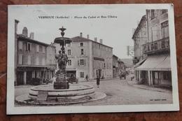 COLOMBIER LE CARDINAL (07) - LES CELESTINS - FACADE SUR LE PARC - France