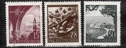 Yougoslavie Poste Aérienne YT N° 42/44 Neufs ** MNH. TB. A Saisir! - Airmail
