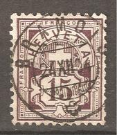 Zu       64B / Mi 57Y / YT 70 Obl. Centrale BRAMOIS 24.12.04 LUXE SBK 5,- + Voir Description + Scans Recto/verso - 1882-1906 Armoiries, Helvetia Debout & UPU