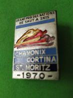 SPORT INVERNALI SPILLE Gran Prix Nazioni Di Salto Chamonix Cortina St. Moriz 1970 - Italy