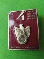 SPORT INVERNALI SPILLE  4° Criterium Sciistico Triveneto Imprenditori Madonna Di Campiglio 1972 - Italy