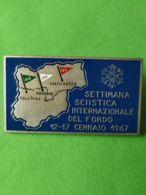 SPORT INVERNALI SPILLE Settimana Sciistica Internazionale Del Fondo 1967 - Italy
