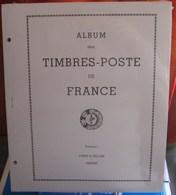 Yvert Et Tellier - INTERIEUR FRANCE FS VOL. N°1 (1849/1969) REF.1298 (Sans Pochettes) - Albums & Binders